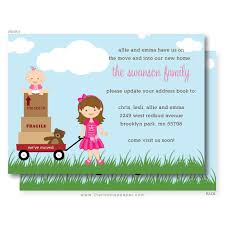wagon we ve moved card