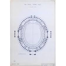 Royal Albert Hall Floor Plan Survey Drawing Of The Royal Albert Hall Kensington Gore London
