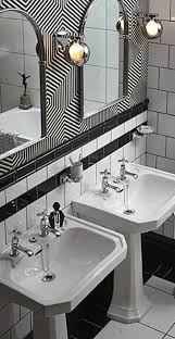 378 best art deco bathrooms and kitchens images on pinterest art