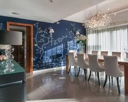 Asian Inspired Dining Room Asian Inspired Wallpaper Houzz