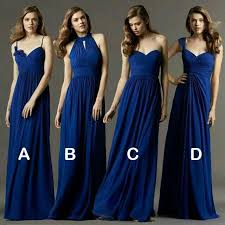 royal blue chiffon bridesmaid dresses best 25 chiffon bridesmaid dresses ideas on pink