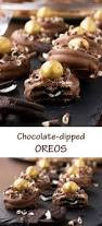 chocolate dipped oreos with a video scrummy lane