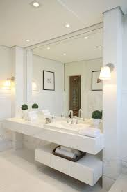 modern white bathrooms bathroom with patchwork wall and floor