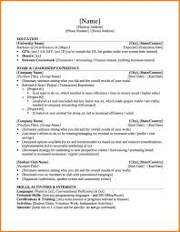 Investment Banker Resume Sample by 19 Banking Resume Template Personal Statement Example Good Mla