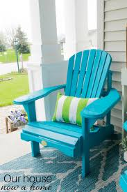 Adirondack Chair Colors Front Porch Decorating Ideas With The Perfect Adirondack Chairs