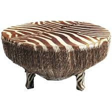 silver drum coffee table african zebra hide drum coffee or side table at 1stdibs drum coffee