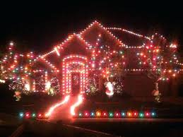 pictures of christmas lights on houses multi colored christmas lights nourishd co