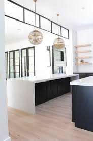 black modern kitchen cabinet pulls our new modern kitchen the big reveal the house of