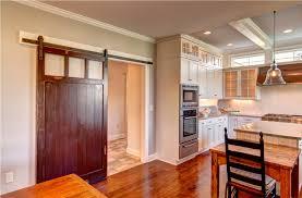 Sliding Door Design For Kitchen Barn Door Ideas For Kitchen Love This Old Door Hung As A Barn