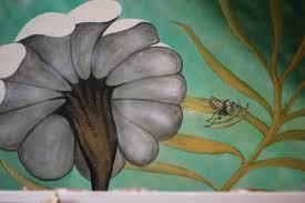 alice in wonderland nursery kayliejay designs 5mural detail