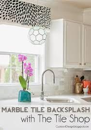 marble tile kitchen backsplash backsplash with the tile shop cuckoo4design