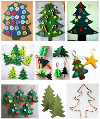 Felt Christmas Decorations Wholesale by 2017 New Fashion Handmade Crafts Wholesale Wall Ornaments Felt