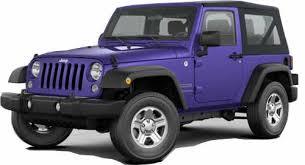 jeep wrangler 4 door mpg 2017 jeep wrangler 2 door 4 seat softtop suv priced 24 000