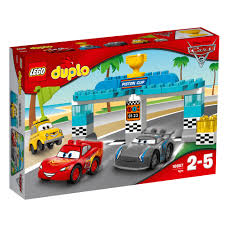 peugeot lego 10857 lego duplo piston cup race disney cars 31 pieces age 2 5