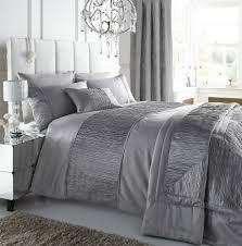 home design bedding silver duvet cover set home duvet