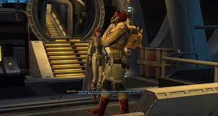 swtor bounty hunter guide do class stories often have crossover characters like this
