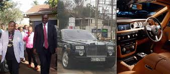 roll royce kenya photos of evans kidero 40 million phantom rolls royce
