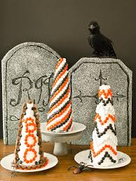 make a halloween cake halloween decorating idea make a candy topiary hgtv
