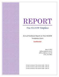 lab report template microsoft word 7 report cover page templates for business documents
