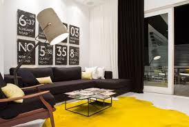 Modern Yellow Rug Yellow Wool Rug Affordable Modern Home Decor Best Yellow