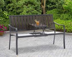 Patio Table Size Bench Outdoor Patio Table With Bencheatingoutdooreating