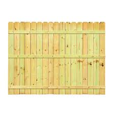 decoration delightful pressure treated pine dog ear fence panel