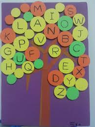 alphabet tree abc tree aaishascreativedreams