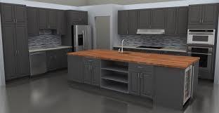 Grey Kitchen Backsplash Kitchen Best Painted Grey Kitchen Cabinet Ideas With Grey