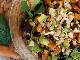 recette cuisine saine salade de patate douce au pesto rock my casbahrock my casbah