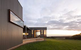 Modern House In Country Modern House In Australia With Amazing View Flat Decoration