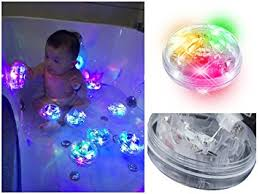 tub led lights amazon com baby bath bathtub toys bath led lights up bath toys