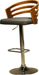 Wooden Swivel Bar Stool Ac Pacific Modern Wood Adjustable Height Swivel Bar Stool