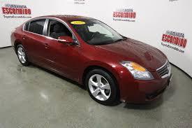 nissan altima pre owned pre owned 2008 nissan altima 4dr car in escondido 59498 toyota