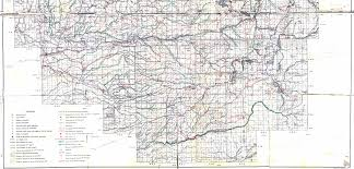 Murray State Map by Georgetown Divide Maps El Dorado County Eldorado National Forest
