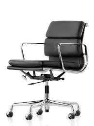 chaise de bureau vitra vitra pad chair ea 217 chromé de charles eames