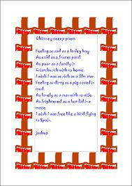 porchester junior website simile poems