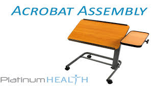 acrobat professional overbed laptop table laptop table for bed how to assemble the acrobat adjustable over