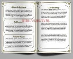 Funeral Programs Wording 79 Best Funeral Program Templates For Ms Word To Download Images