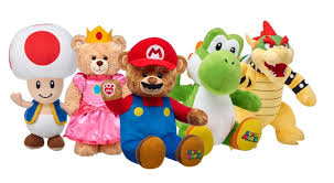 build your own teddy cuddly nintendo characters join the build a workshop lineup