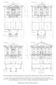 house plan greek revival plans at familyhomeplanscom small