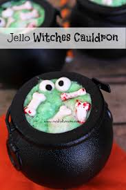 halloween cauldrons jello witches cauldron recipe