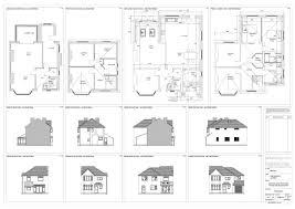 ground floor extension plans drawing portfolio selby design