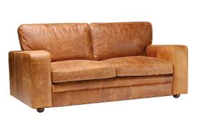Brown Leather Sofa Bed A Brown Leather Couch For Captivating Distressed Leather Sofa