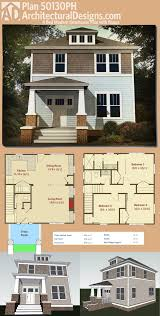 1300 Square Foot Floor Plans by Plan 50130ph Classic Three Bed Four Square House Plan Square