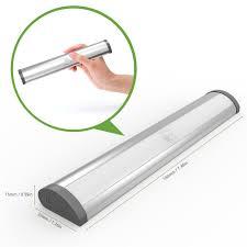 motion sensor under cabinet lighting le led closet light motion sensing under cabinet lighting wireless