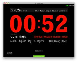 Blinds Timer Old Timer Texas Holdem Poker Blinds Timer