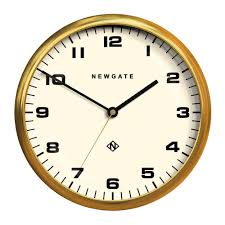 buy newgate clocks chrysler wall clock amara