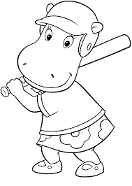 backyardigans coloring pages 2 coloring pages print