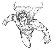 generic superman sketch spacehater deviantart