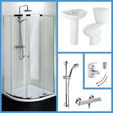 Shower Enclosure Bathroom Suites Bathroom Suites With Shower Enclosures Ebay